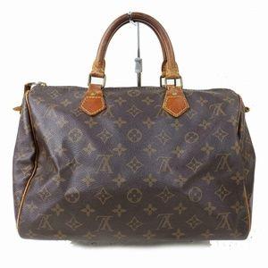Auth Louis Vuitton Speedy 30 Hand Bag #1023L15